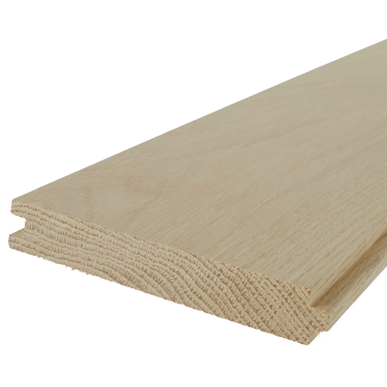 Solid Oak Prime Grade Flooring Natural 20x145mm Floorboard