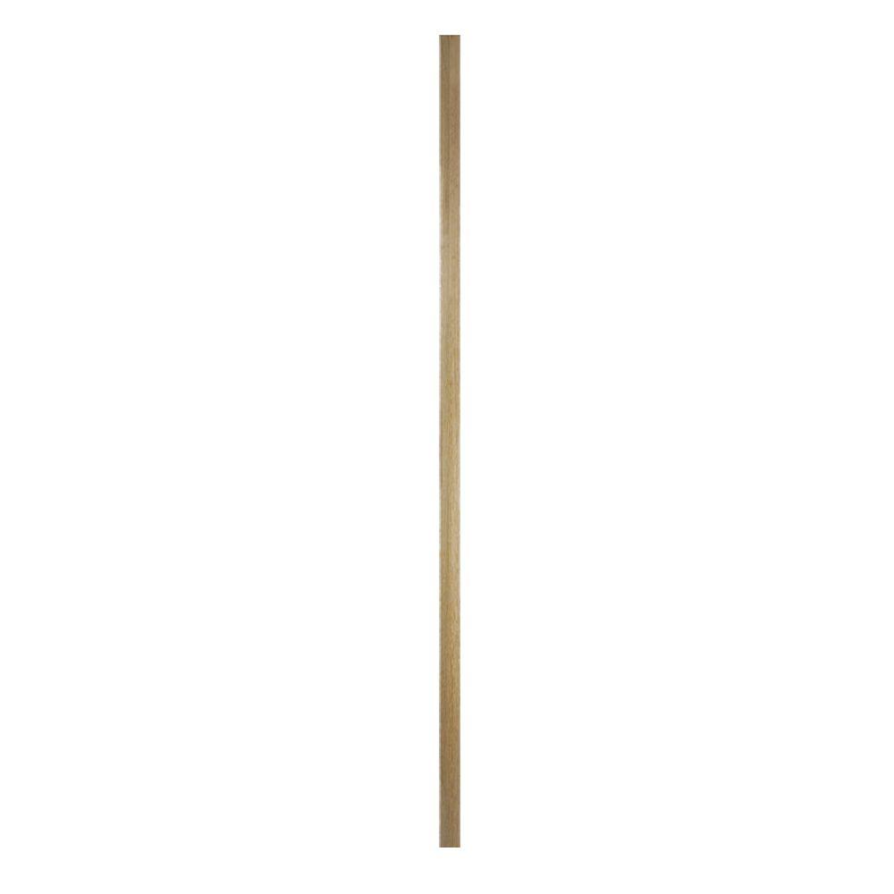 Solid White Oak 3 0m Half Newel Post 43mm X 90mm Square Edge