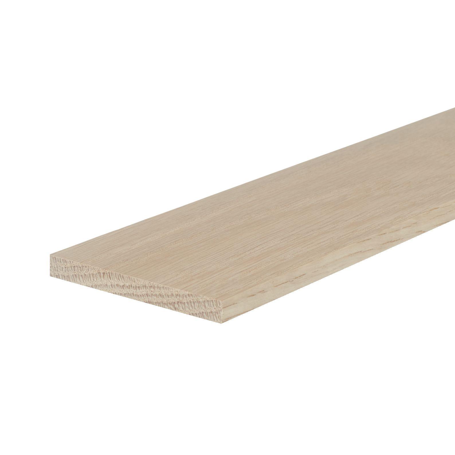 Solid White Oak Filet Strip 8mm X 41mm Fits 41mm Groove