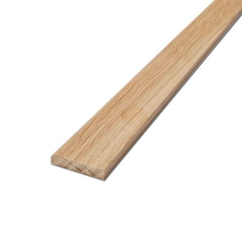 Oak 5mm Flat Beading - Square Edge