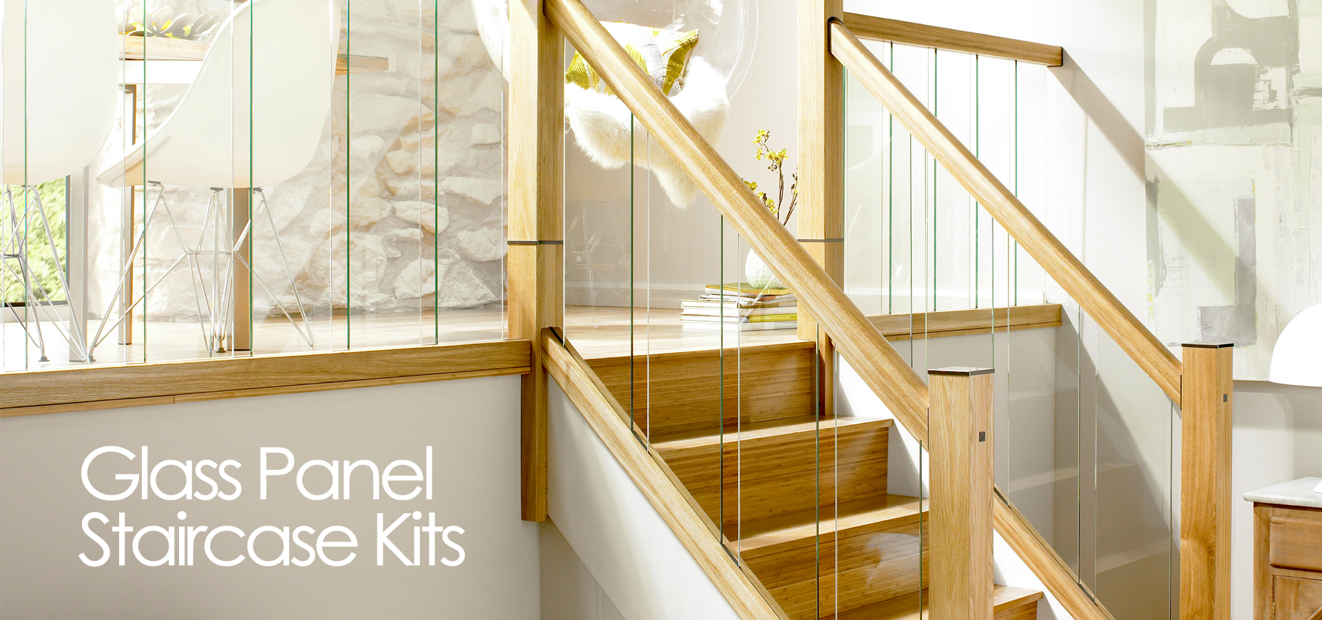 Solid oak stair parts, Handrails & stair kits